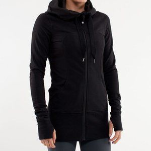 Lululemon | Live Simply Long Zip Up Hoodie